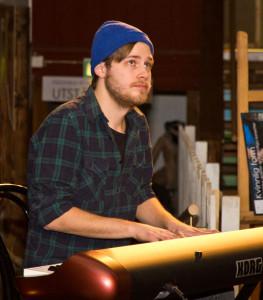 Simon Westman på piano