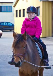 Flicka Till Häst